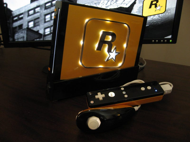 Rockstar Wii Mod Starts Manhunt For Classy Consoles
