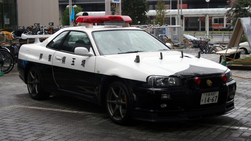 The Coolest Police Cars Of All Time