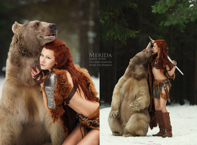 Cosplaying with a Bear? You Gotta Be Brave