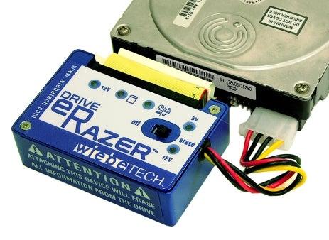 Drive eRazer Tabula Rasas Hard Drives, No Computer Required