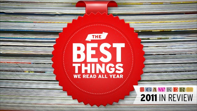 The Best Things We Read All Year