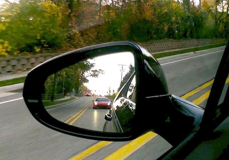 Ferraris Do Not Enjoy Running Behind Hypermiling Volts