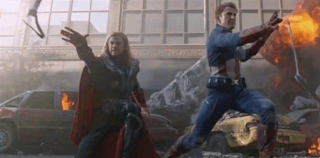 Avengers Trailer Gets Super Derpy