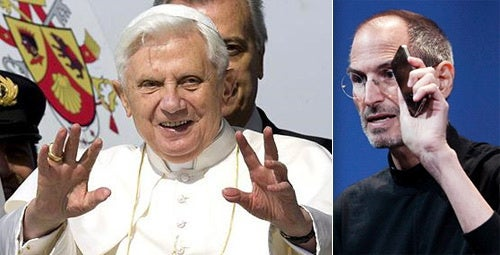 How Steve Jobs Usurped God, the Pope and All Things Holy