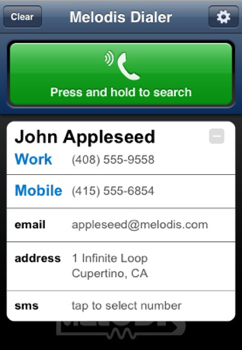 Voice Dialer Brings Fast, Impressive Voice Dialing to Your iPhone