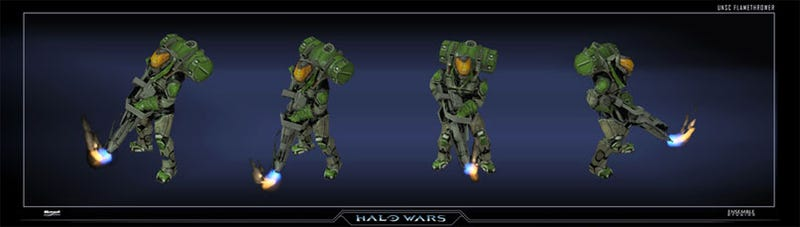 Every Unit, Building From Halo Wars Catalogued