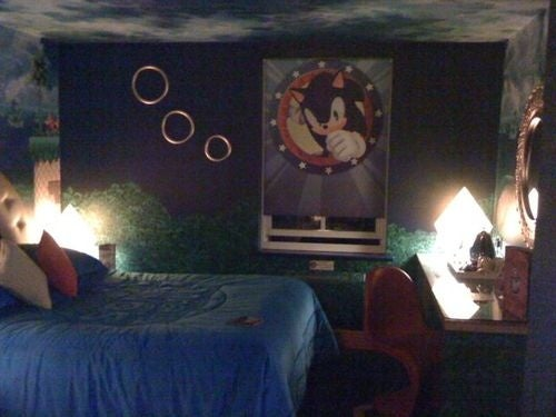 The Sonic The Hedgehog Room, The Hotel Room