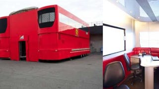 Ferrari's Old F1 Transporters Would Make The Ultimate Party Bus Setup