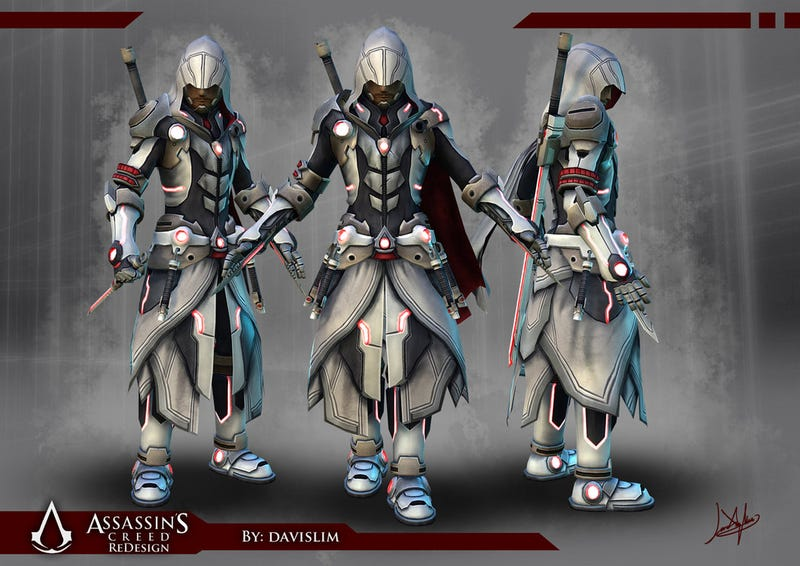 What if Assassin's Creed Looked More Like Star Wars?