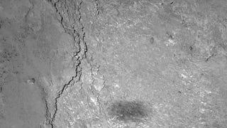 Rosetta Spots Its Shadow On Comet 67P