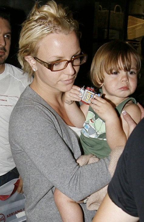 Britney's Ugly Extensions, Gorgeous Baby Boy
