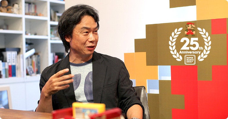 What Will Mario's Creator Do When He's Done Making Games?