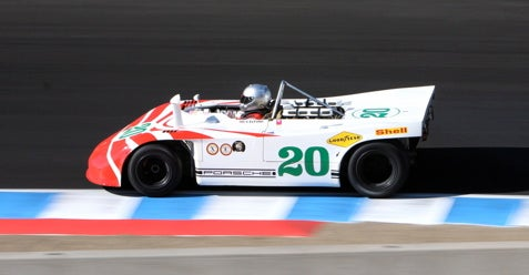 Racing Action from the Monterey Historics