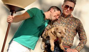 Today in Gay Weddings: Simon Doonan and Jonathan Adler