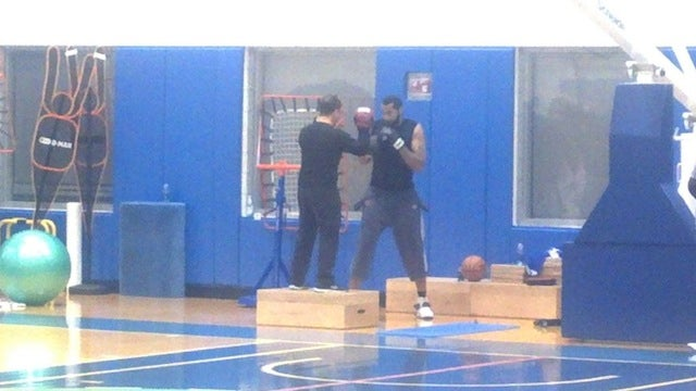 Here Is Your Rasheed Wallace Being Hilarious At Knicks Camp Update: Sheed Is Boxing