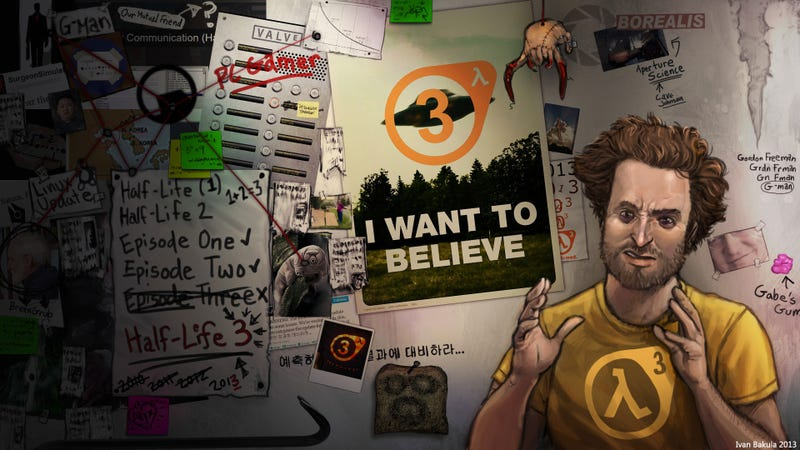Half-Life Conspiracy Theorists, You're The Best Kind Of Crazy