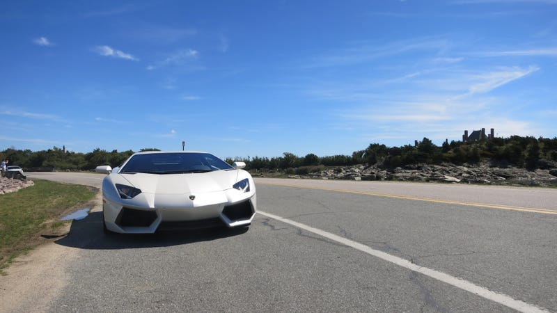 Should You Take A 700 Horsepower Lamborghini Aventador On A Road Trip?