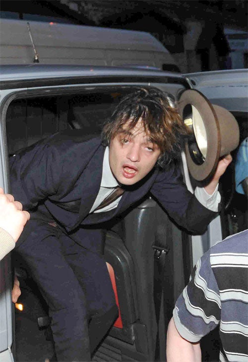 Pete Doherty: Fall Out Boy