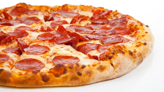 Monstrous NYPD Eats Occupy Wall Street's Pizza