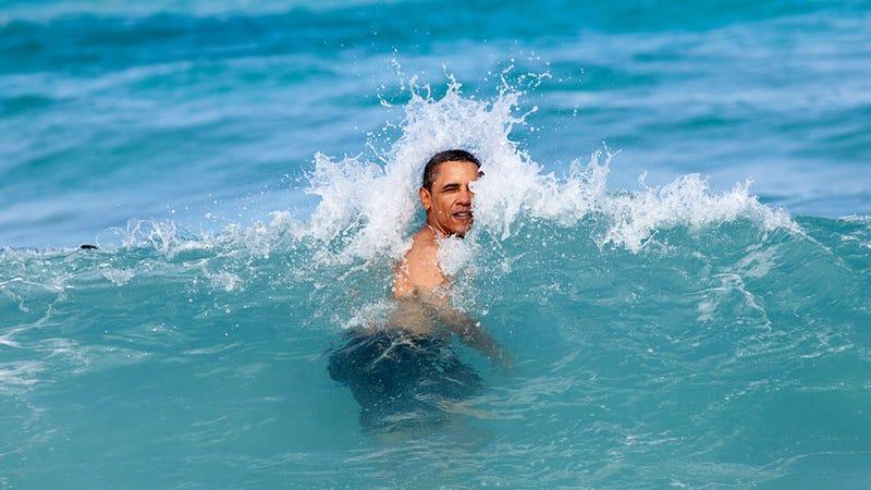 The White House Doesn't Want Bikini-Body Obsessed World Leering at Paparazzi Pix of Sasha and Malia on the Beach