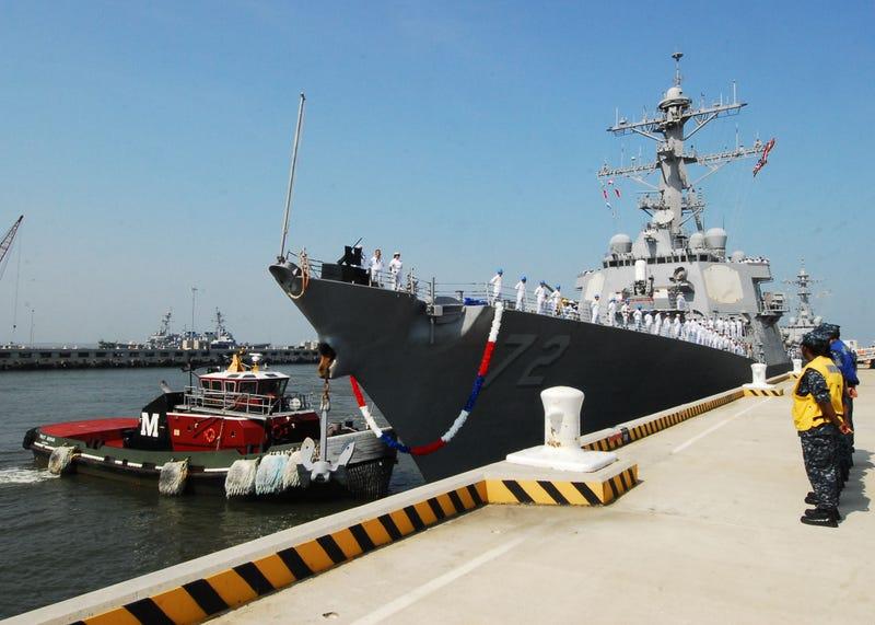 Shootout on U.S. Navy Warship Kills Two at Virginia Base