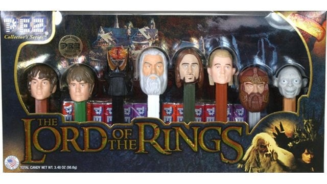 Daily Desired: There Are Only 30 LOTR Pez Dispenser Sets Left on Amazon Right Now