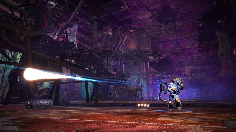 This New Warhammer 40,000 Arcade Shooter Doesn't Seem Very Warhammer-y
