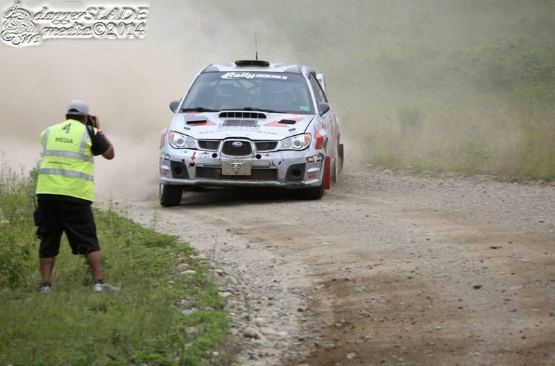 New England Forest Rally shots