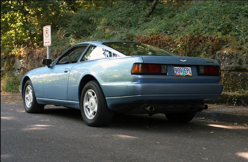 For $48,500, those are some pretty nifty Scirocco taillights.