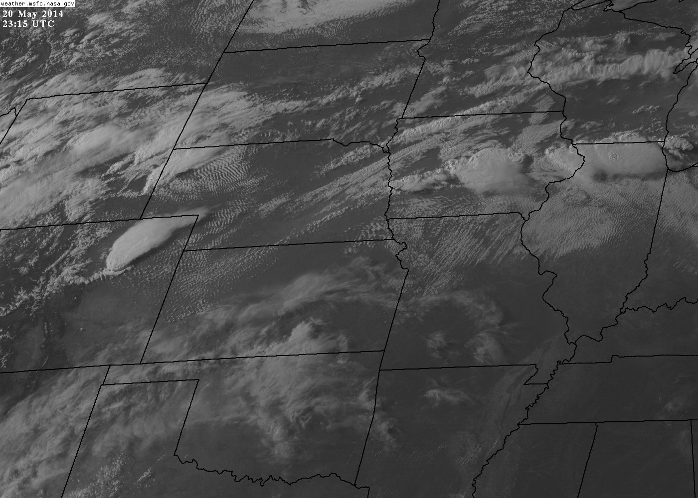 Check Out These Awesome Satellite and Radar Images of Tuesday's Storms