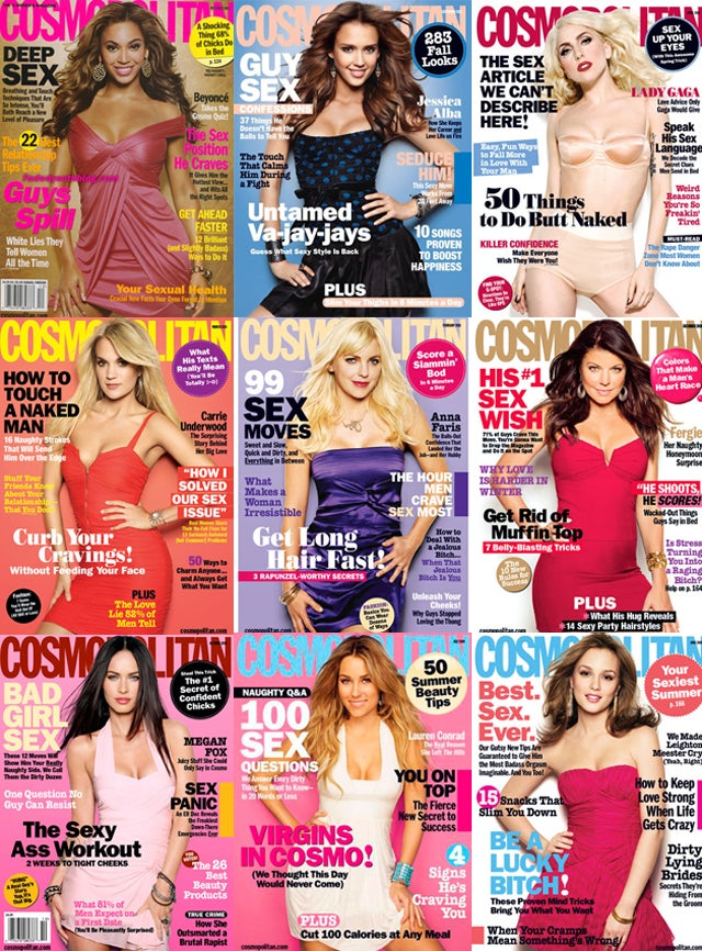 32 Cosmo Covers Offer Sex, Sex & Dirty Sexy Sex
