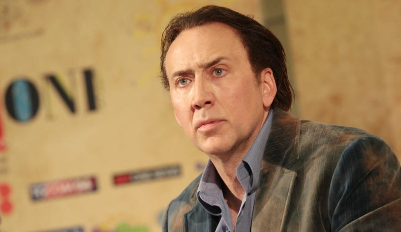 Nicolas Cage Promotes Drug Dabbling and Listening to TLC's Waterfalls