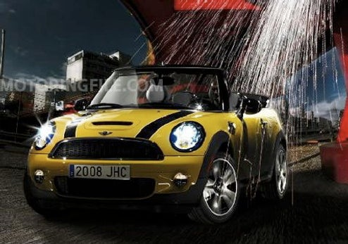 2009 Mini Convertible Press Shots Slip Out Ahead Of Supposed Detroit Reveal
