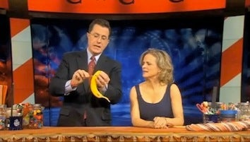Learn To Make Cheap, Sacrilegious Gifts With Amy Sedaris & Stephen Colbert