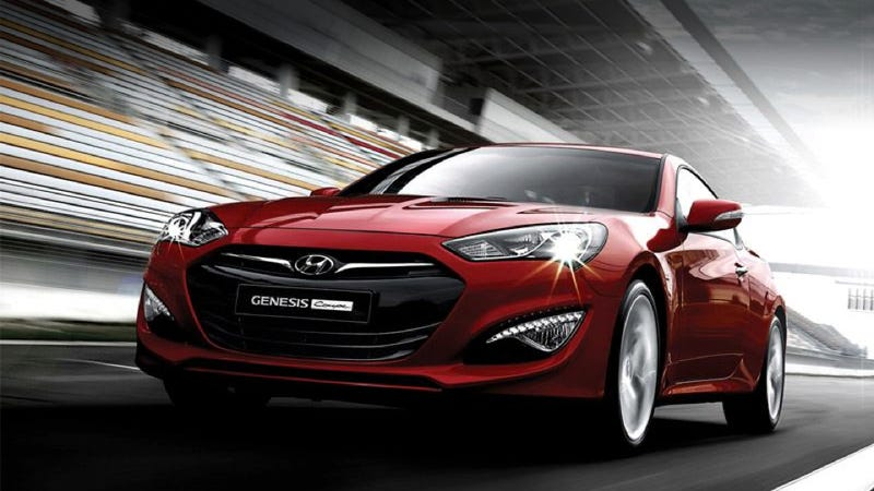 2013 Hyundai Genesis Coupe: No, really, it is