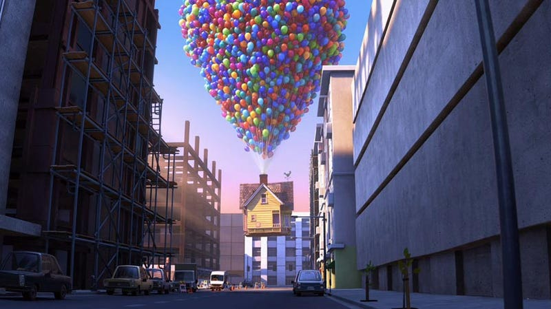 Pixar Grants Girl's Last Wish to See Up