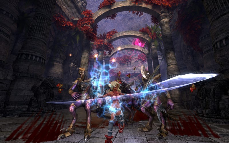 New X-Blade PS3 Screens - Get Your Russian Booty Fix