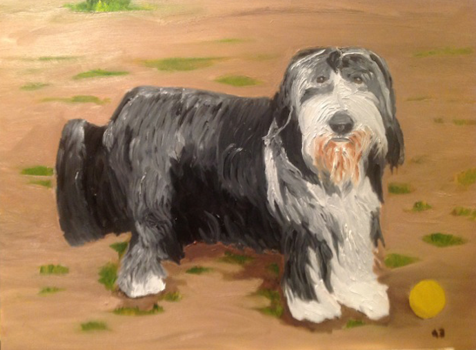 Jeb Bush on George's Paintings: He Would Like to Paint Your Dog, Probably