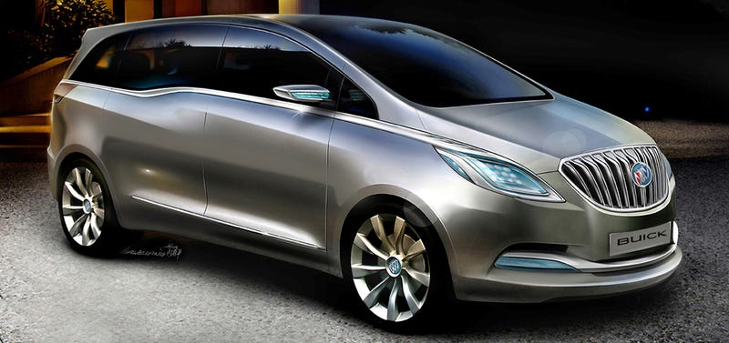 Buick Business Concept Gets Seriously Busy In Shanghai With New Images