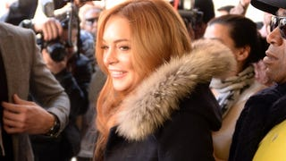 Lindsay Lohan Served Her Community by Letting People Follow Her Around