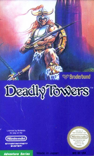 Talking Deadly Towers NES with Broderbund's Producer, Alan Weiss