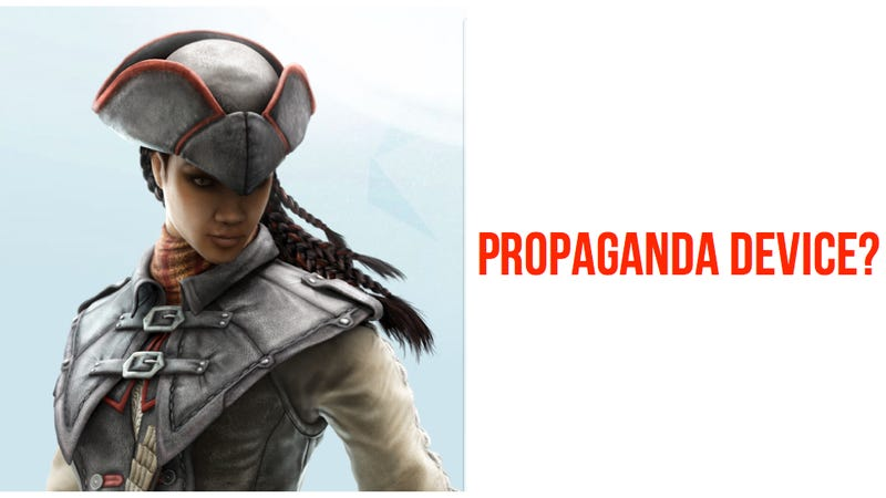 The Bad Guys Are Making Assassin's Creed III: Liberation. I'm Suddenly Much More Interested.