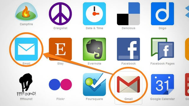 Deleting Google Voice, Extra Groceries, and Gmail in IFTTT