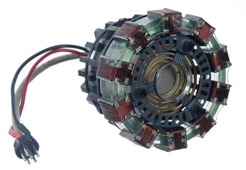 Own the Actual Arc Reactor from Iron Man
