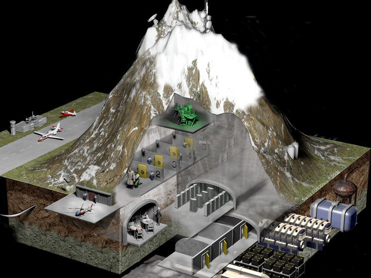 The Blueprint To All Our Data Is Hidden Inside This Mountain Fortress