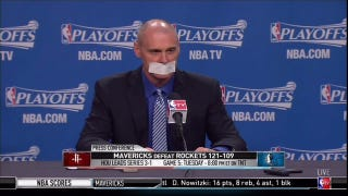Rick Carlisle Tapes Mouth Shut To Avoid Criticizing Officials