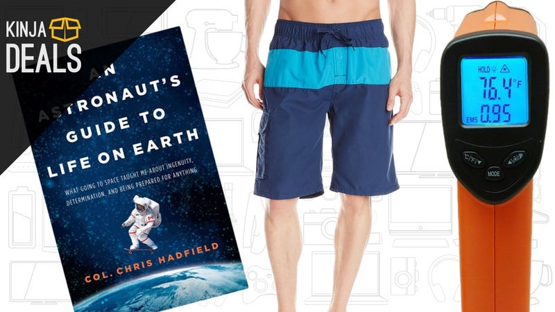Sunday's Best Deals: Kindle Memoirs, Swimwear, IR Thermometer, and More