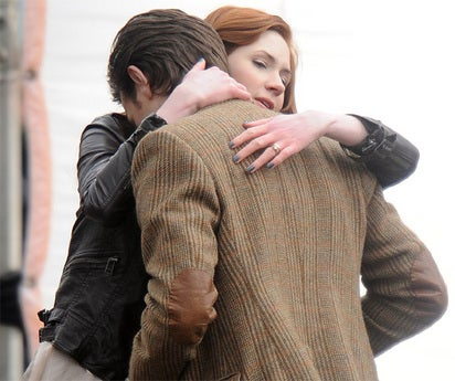 Is there a major spoiler in these Doctor Who set photos?