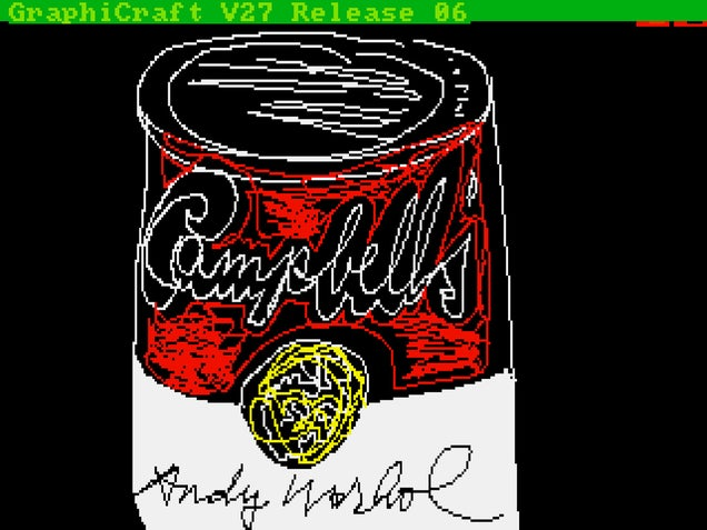 Andy Warhol's Lost Amiga Computer Art Rediscovered 30 Years On