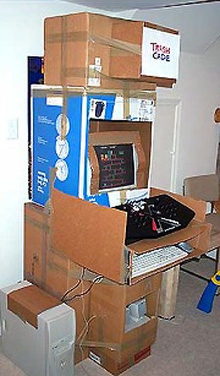 TrashCade Is the Ultimate Hobo Arcade Cabinet